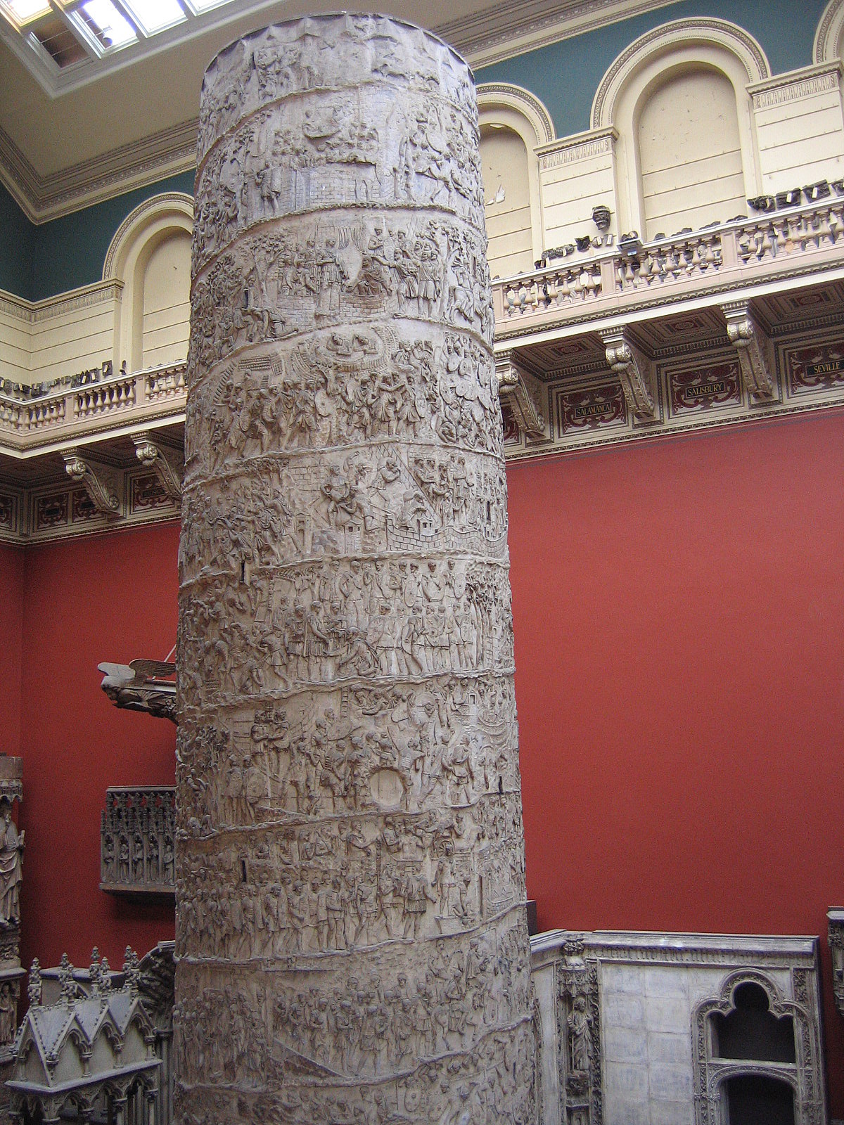 Another Cast of Tarjans Columns