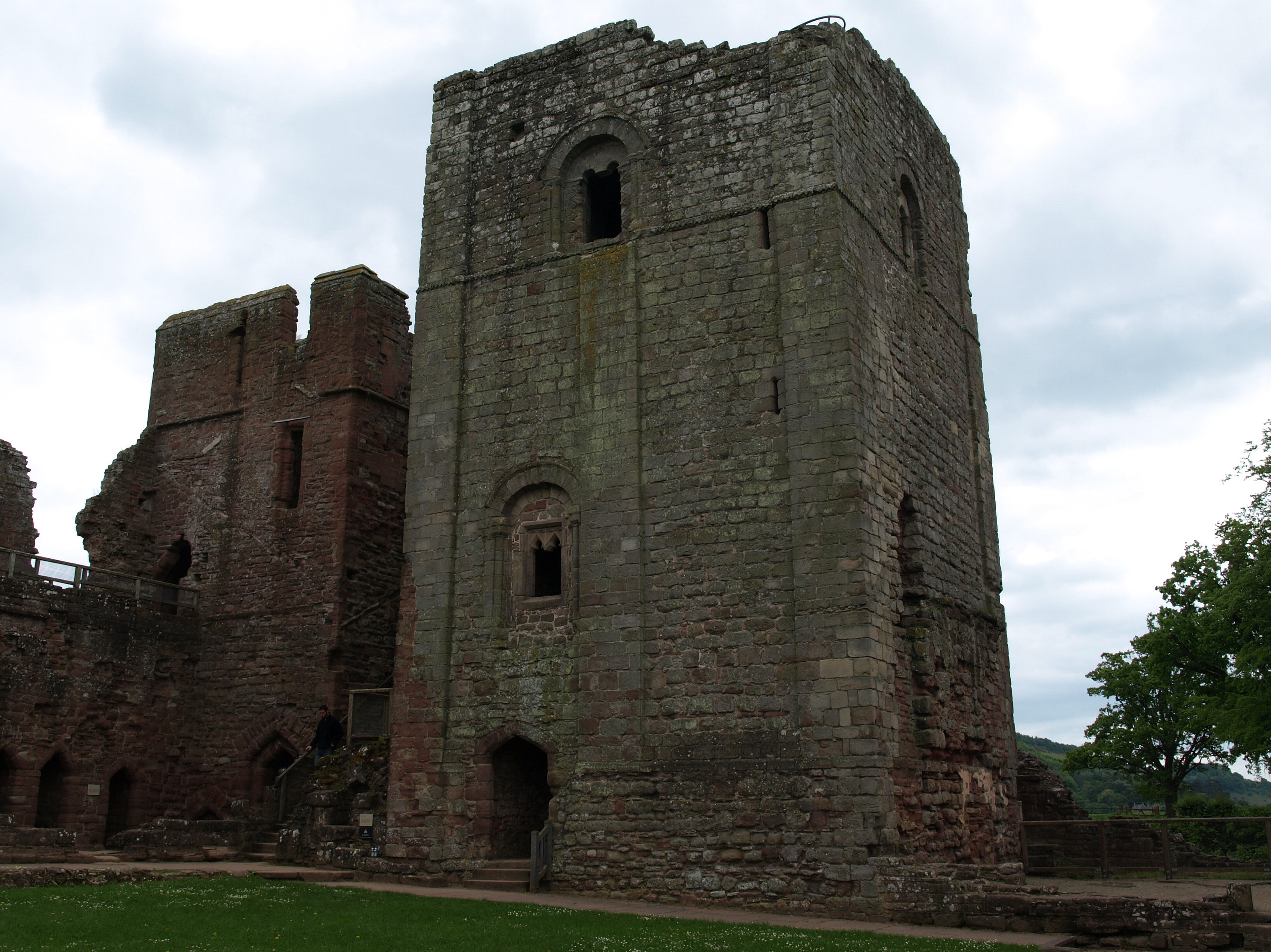 The Norman Keep Still Standing