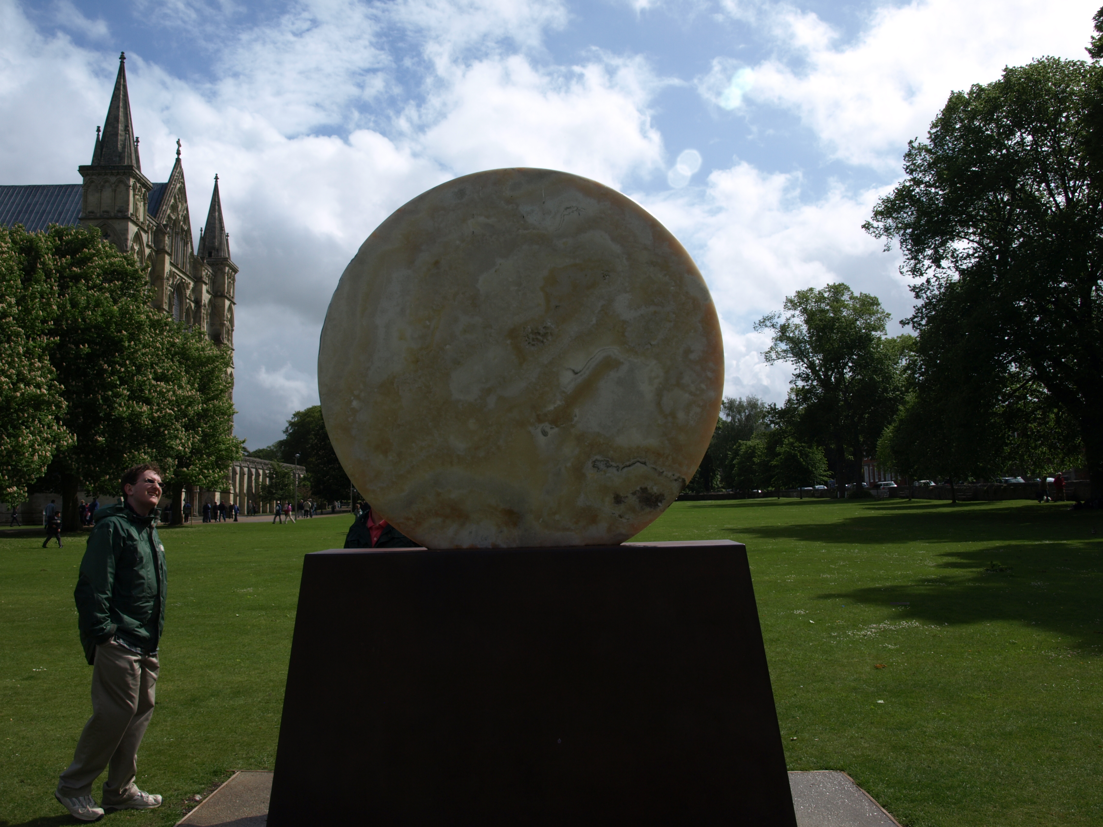 Alex Gazing Upon the Lunar Disc