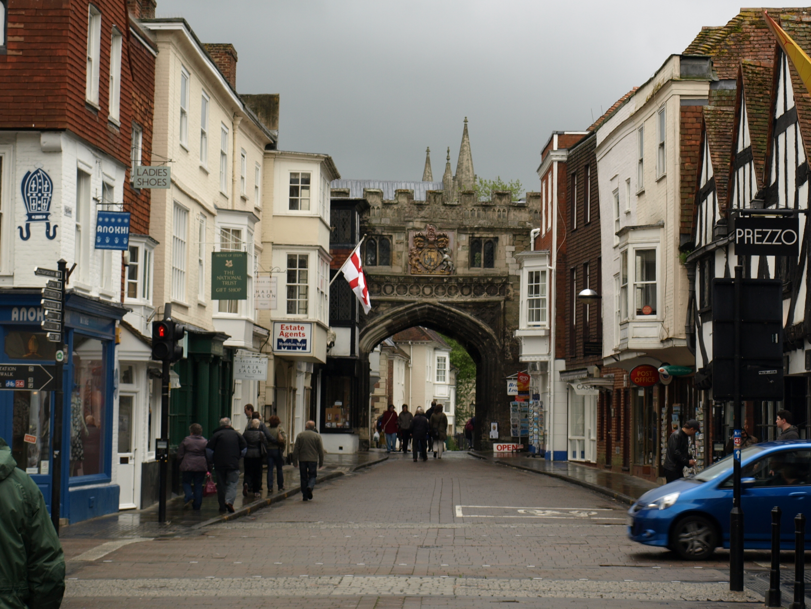 Arched Gate Above High Street