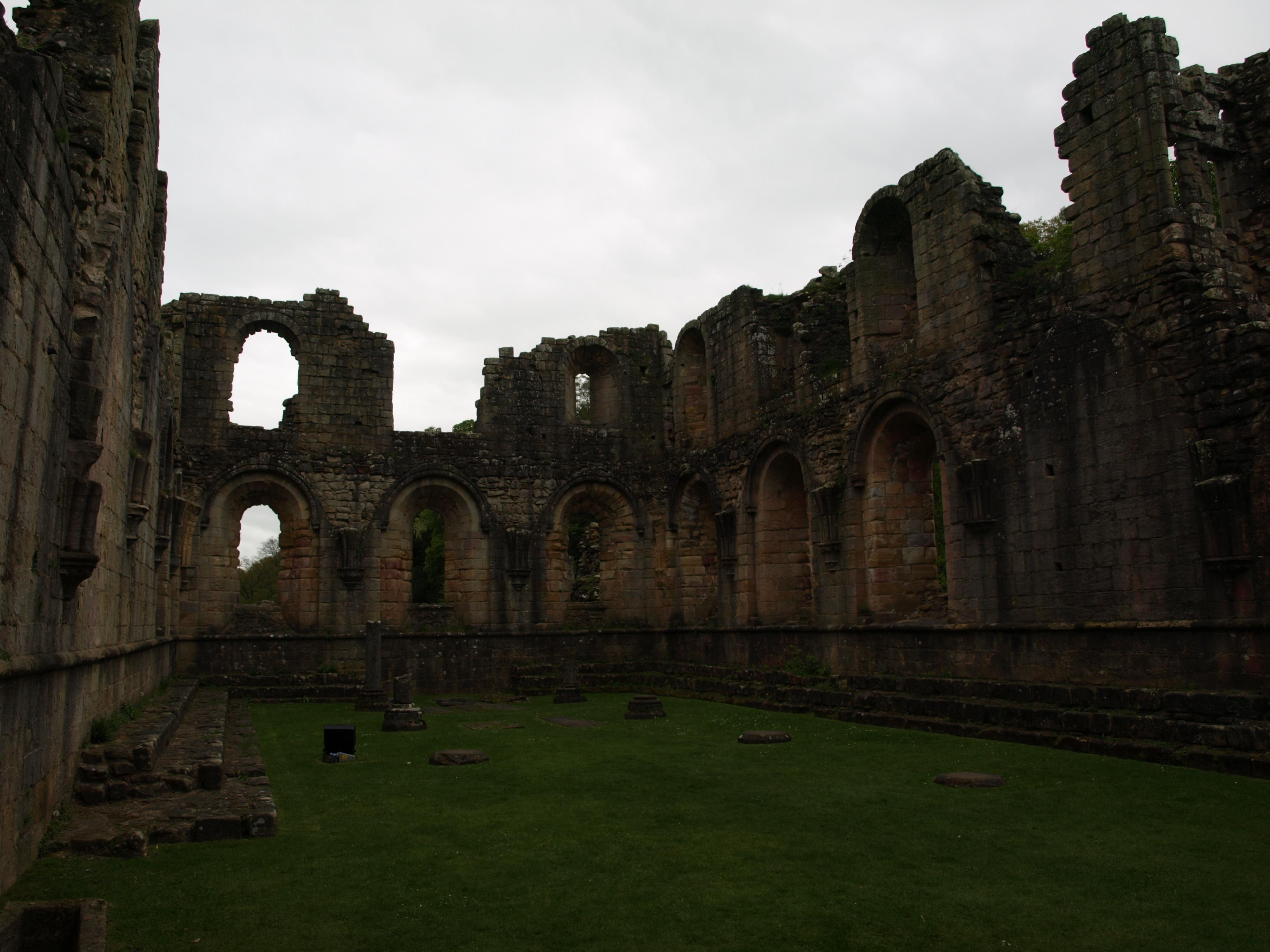 Within the Ruins of the Chapter House